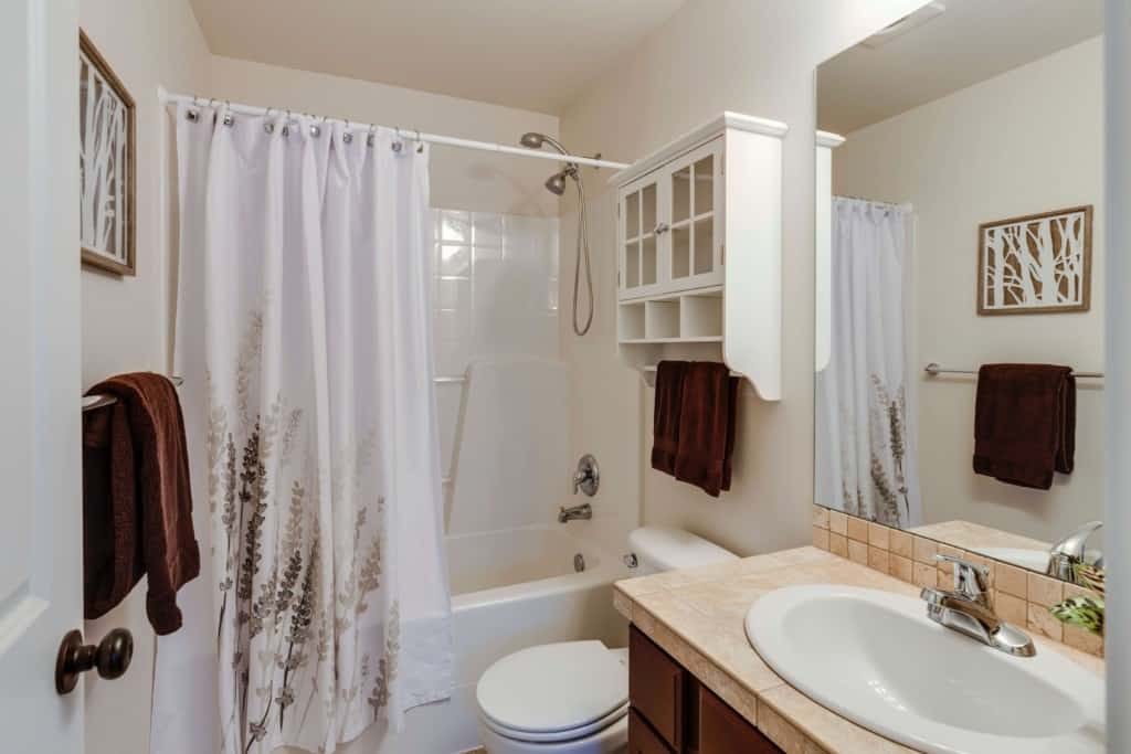 5 Types Of Shower Curtain Rods Which, Odd Shaped Shower Curtain Rods